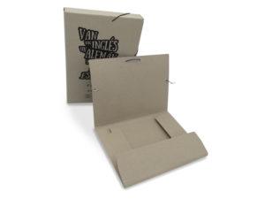 carpeta cartón reciclado a4
