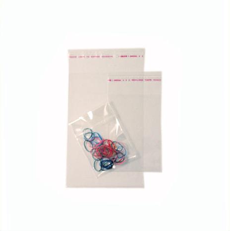 Bolsa de plástico Polipropileno autoadhesiva